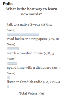What's the best way to learn Swedish? | Yahoo Answers
