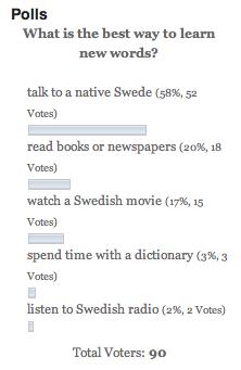 Simple Swedish Words
