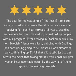 Swedish Made Easy review